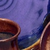 Dinnerware Set,  Grape and Caramel Glazes